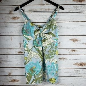 3/$10 TOMMY BAHAMA 100% silk top size SMALL
